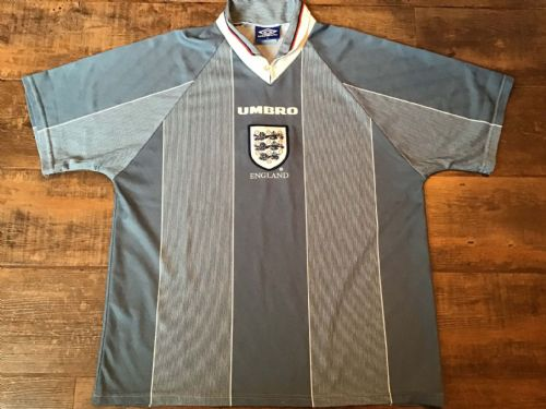 1996 England Away Football Shirt XL